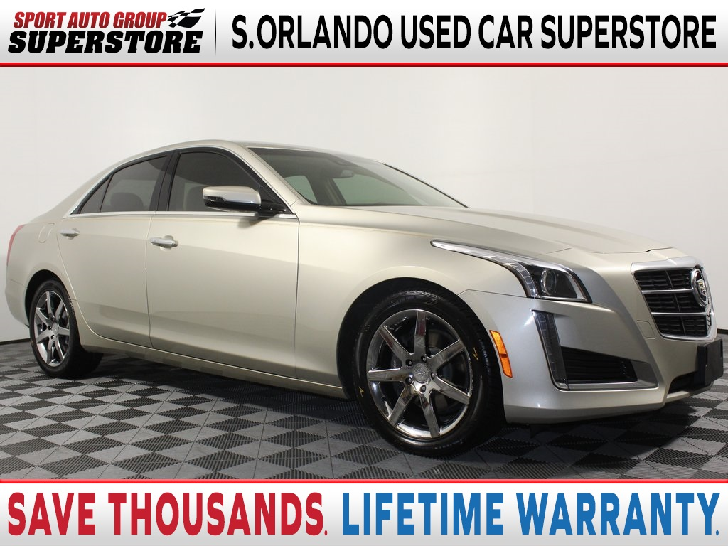 Pre-Owned 2014 Cadillac CTS 2.0L Turbo Luxury