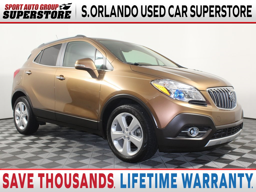 Used 2016 Buick Encore Leather 4d Sport Utility In Orlando Bp542964