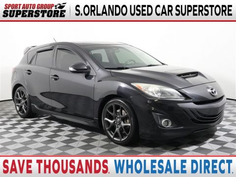 Pre-Owned 2013 Mazda3 MazdaSpeed3 Touring