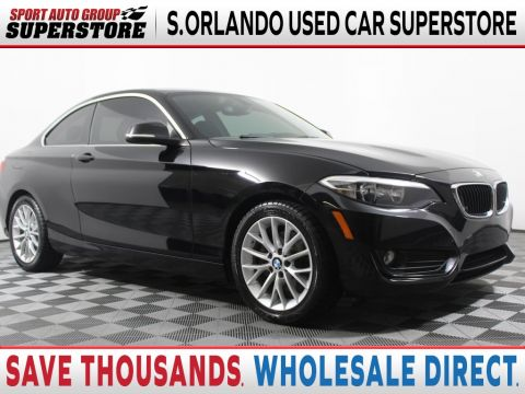 Pre-Owned 2015 BMW 2 Series 228i